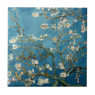 Blossoming Almond Tree by Vincent van Gogh Tile