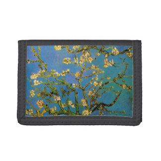 Blossoming Almond Tree by Vincent van Gogh Tri-fold Wallets