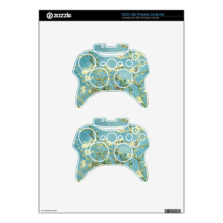 Blossoming Almond Tree by Vincent Van Gogh Xbox 360 Controller Skin