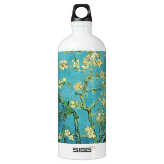 Blossoming Almond Tree - Van Gogh Aluminum Water Bottle