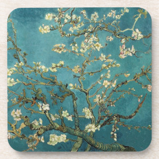Blossoming Almond Tree - Van Gogh Drink Coaster