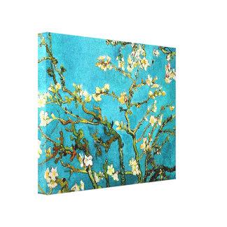 Blossoming Almond Tree Van Gogh Fine Art Canvas Print