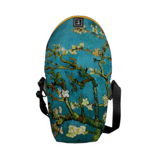 Blossoming Almond Tree Van Gogh Fine Art Courier Bag