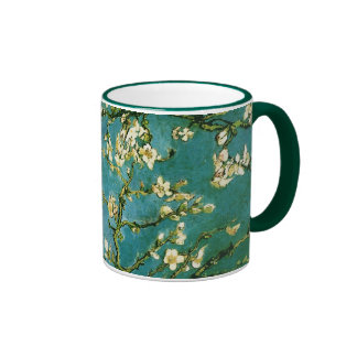 Blossoming Almond Tree Van Gogh Fine Art Ringer Coffee Mug