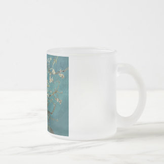 Blossoming Almond Tree - Van Gogh Frosted Glass Coffee Mug