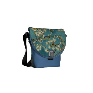 Blossoming Almond Tree - Van Gogh Messenger Bag