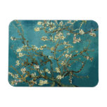Blossoming Almond Tree - Van Gogh Rectangular Photo Magnet