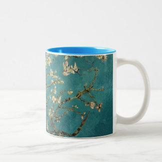 Blossoming Almond Tree - Van Gogh Two-Tone Coffee Mug