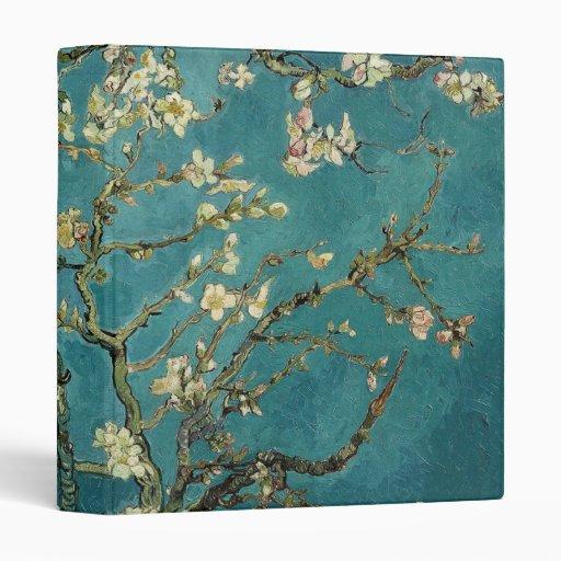 Blossoming Almond Tree - Van Gogh Vinyl Binder