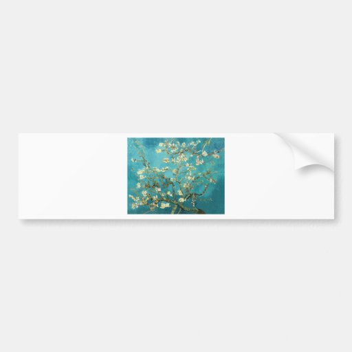 Blossoming Almond Tree - Vincent Van Gogh Bumper Stickers