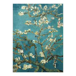 Blossoming Almond Tree, Vincent van Gogh. Card