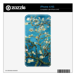 Blossoming Almond Tree Vincent van Gogh Decals For The iPhone 4S
