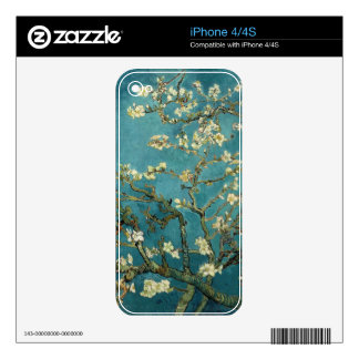 Blossoming Almond Tree, Vincent van Gogh. iPhone 4S Skins