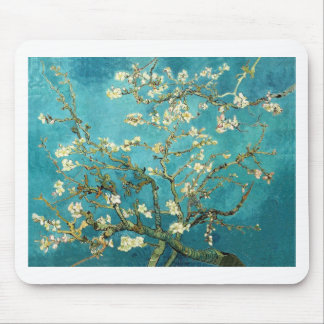 Blossoming Almond Tree - Vincent Van Gogh Mousepads