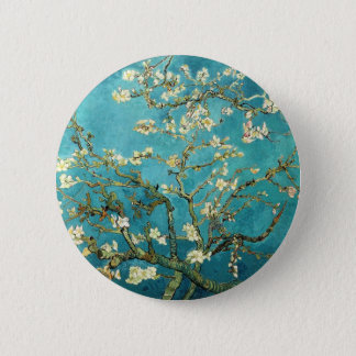 Blossoming Almond Tree - Vincent Van Gogh Pinback Button