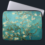 """Blossoming Almond Tree Vintage Floral Van Gogh Computer Sleeve<br><div class=""""desc"""">This is the oil painting &quot;Blossoming Almond Tree&quot; done in 1890 by Dutch post- impressionist artist Vincent Willem van Gogh (1853-1890).    It is our Fine Art Series no. 113. The source images for this series are original art created by lazyrivergreetings or vintage fine art and photography.</div>"""