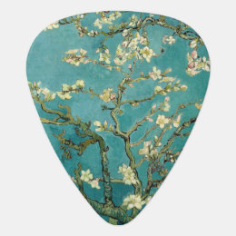Blossoming Almond Tree Vintage Floral Van Gogh Guitar Pick