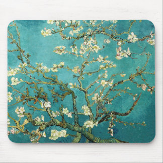 Blossoming Almond Tree Vintage Floral Van Gogh Mouse Pad