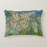 Blossoming Chestnut Branches, 1890 Accent Pillow