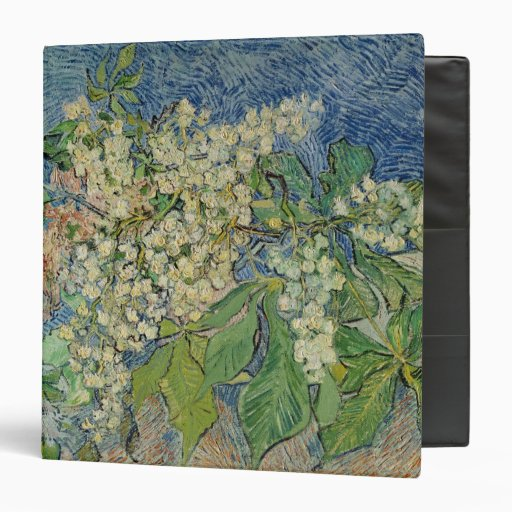 Blossoming Chestnut Branches, 1890 3 Ring Binder