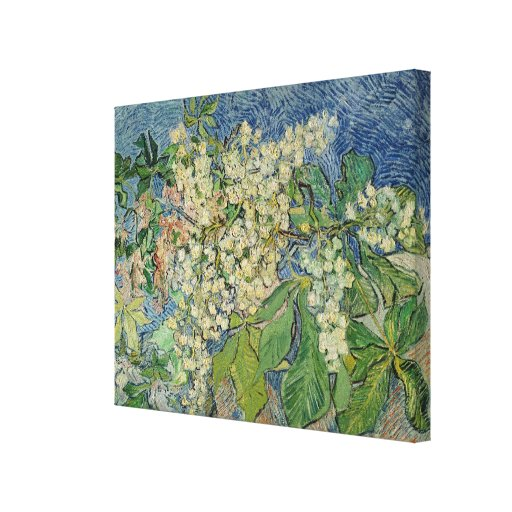 Blossoming Chestnut Branches, 1890 Canvas Print