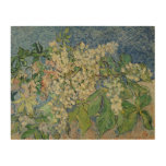 Blossoming Chestnut Branches, 1890 Wood Print
