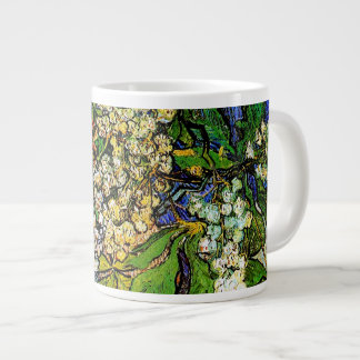Blossoming Chestnut Branches Van Gogh Fine Art 20 Oz Large Ceramic Coffee Mug