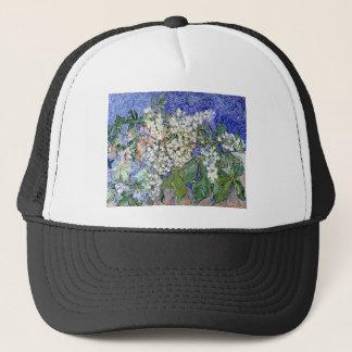 Blossoming_Chestnut_Branches Van gogh.jpg Trucker Hat
