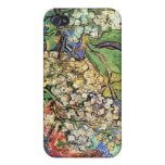 Blossoming Chestnut Branches  Vincent van Gogh. iPhone 4 Covers