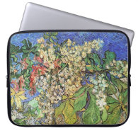 Blossoming Chestnut Branches  Vincent van Gogh. Laptop Computer Sleeves