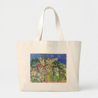 Blossoming Chestnuts Branches, Van Gogh Canvas Bag