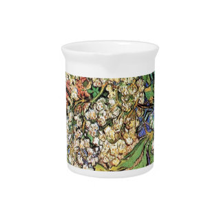 Blossoming Chestnuts Branches, Van Gogh Drink Pitcher