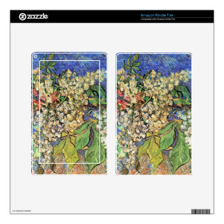 Blossoming Chestnuts Branches, Van Gogh Kindle Fire Skin