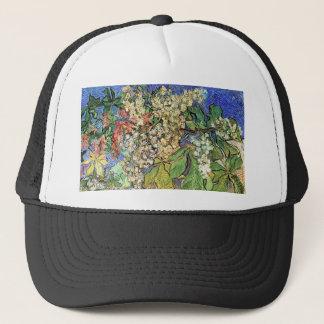 Blossoming Chestnuts Branches, Van Gogh Trucker Hat