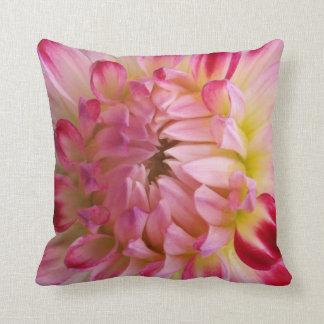 Blossoming Dahlia pillow