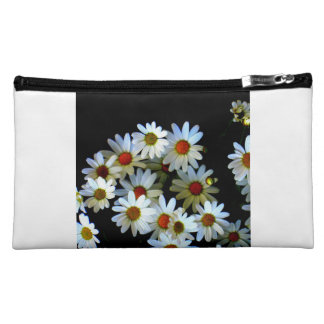 Blossoming darkness Sueded Medium Cosmetic Bag