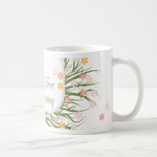 Blossoming Family Tree Classic White Coffee Mug