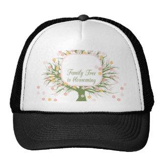 Blossoming Family Tree Mesh Hats