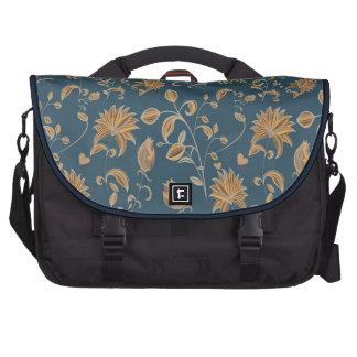 Blossoming Flora patterns Laptop Bag