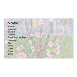 Blossoming Peach Tree By Vincent Van Gogh Double-Sided Standard Business Cards (Pack Of 100)