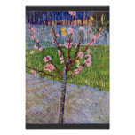 Blossoming Peach Tree By Vincent Van Gogh Posters