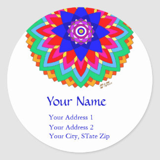 """Blossoming Soul"" Address Labels"