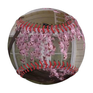 Blossoming Tree in the Suburbs Baseball