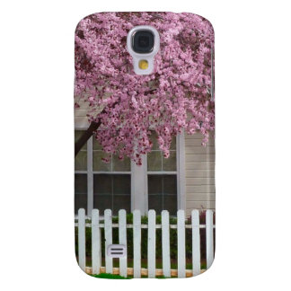 Blossoming Tree in the Suburbs Samsung S4 Case