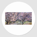 Blossoming trees stickers