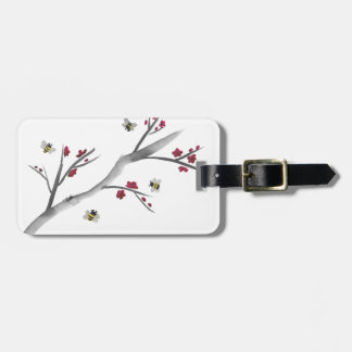 Blossoms and Bees Luggage Tag
