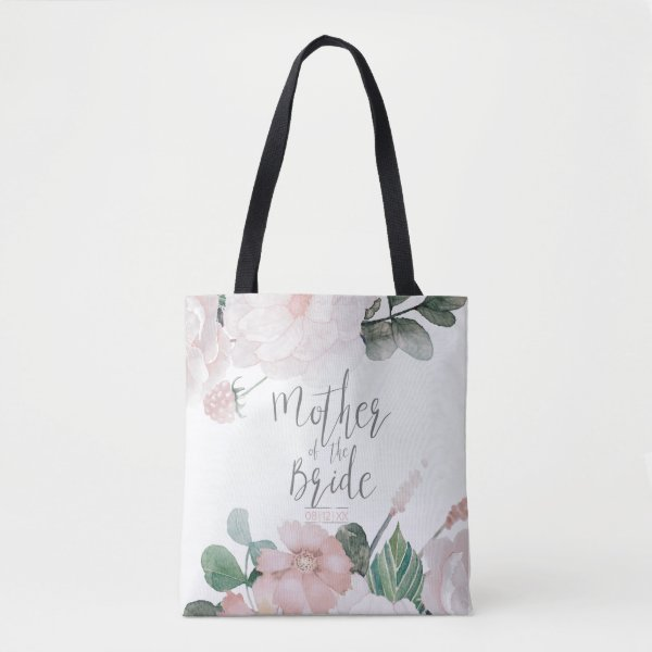 Blossoms and Berries Mother of the Bride ID476 B Tote Bag
