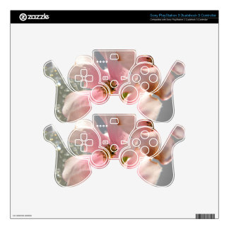 Blossoms and Crystal PS3 Controller Decal