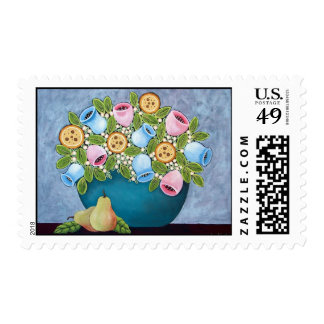 Blossoms and Pears Postage