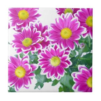 Blossoms Aziza Garden Whimsy Small Square Tile
